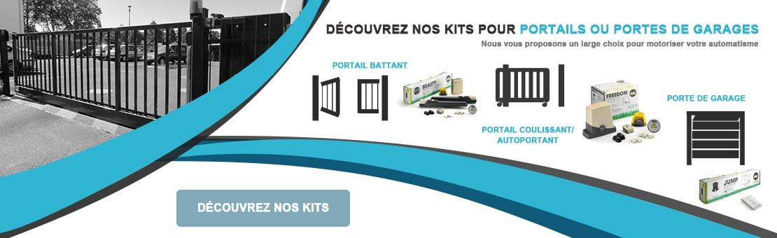 Découvrez nos différentes motorisations pour portails ou portes de garages